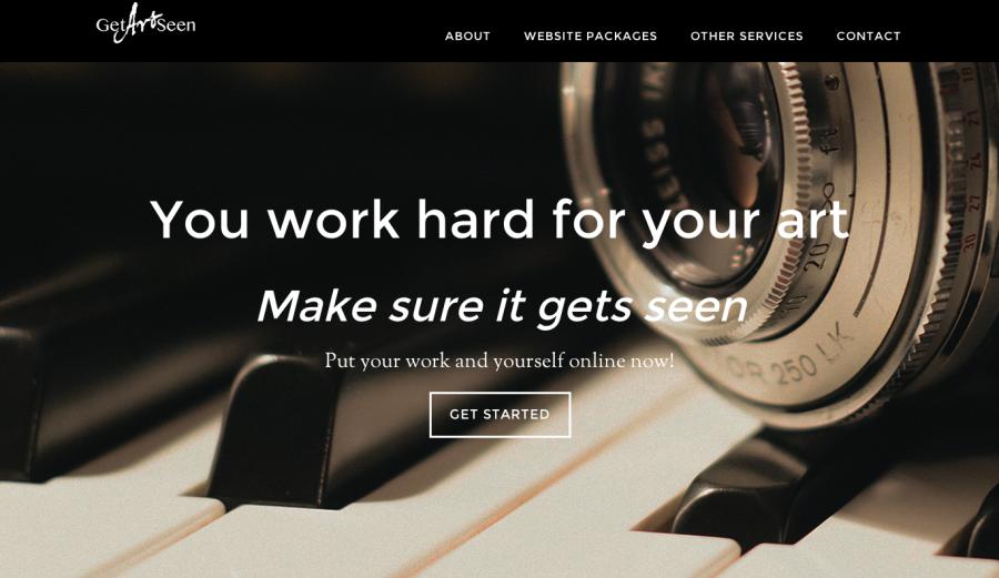 Sara's Business Website
