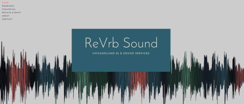 ReVrb Sound's Website