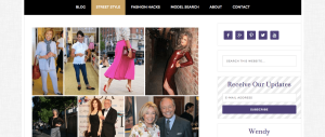 Fashion Over Fifty Street Style Page
