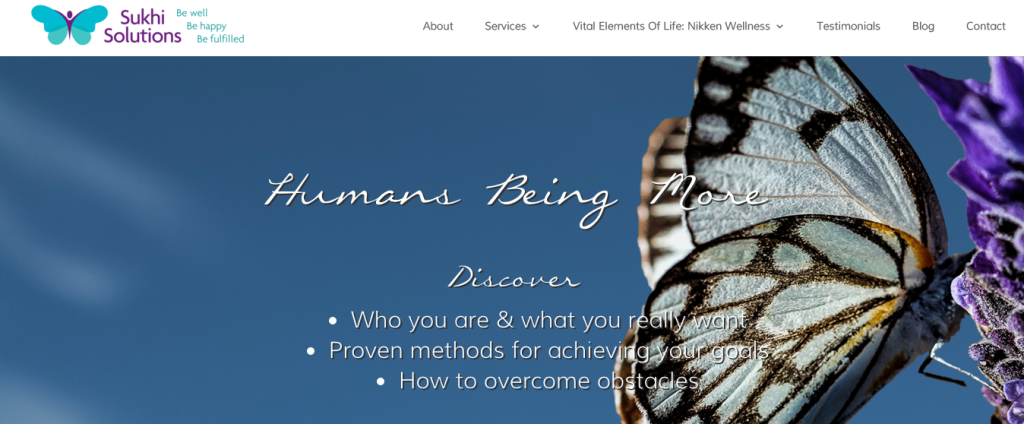 Sukhi Solutions –  A Website for Better Living