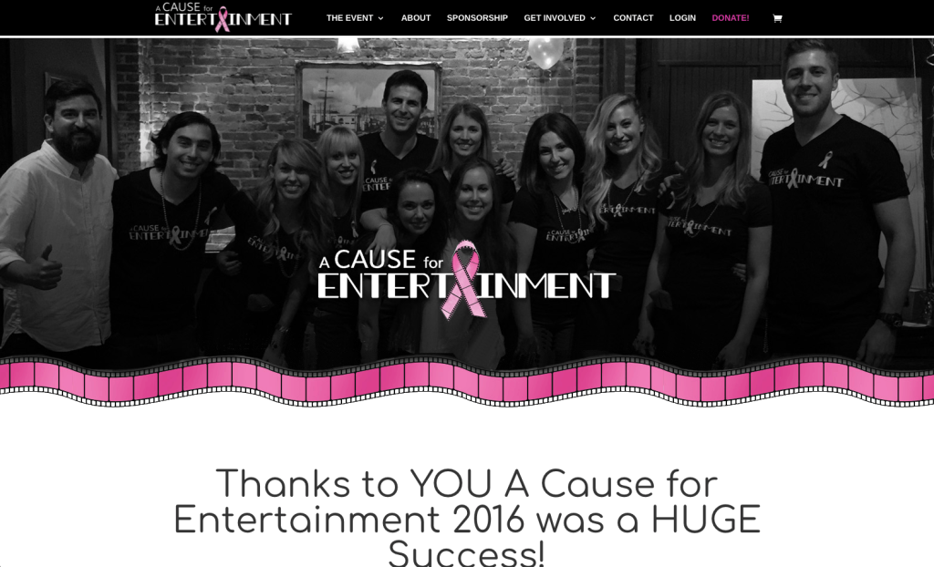 A Cause for Entertainment