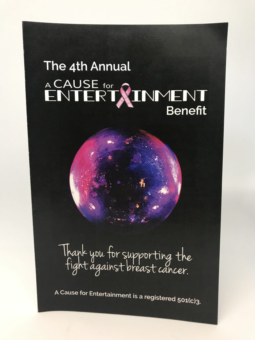 Fundraising Event Program