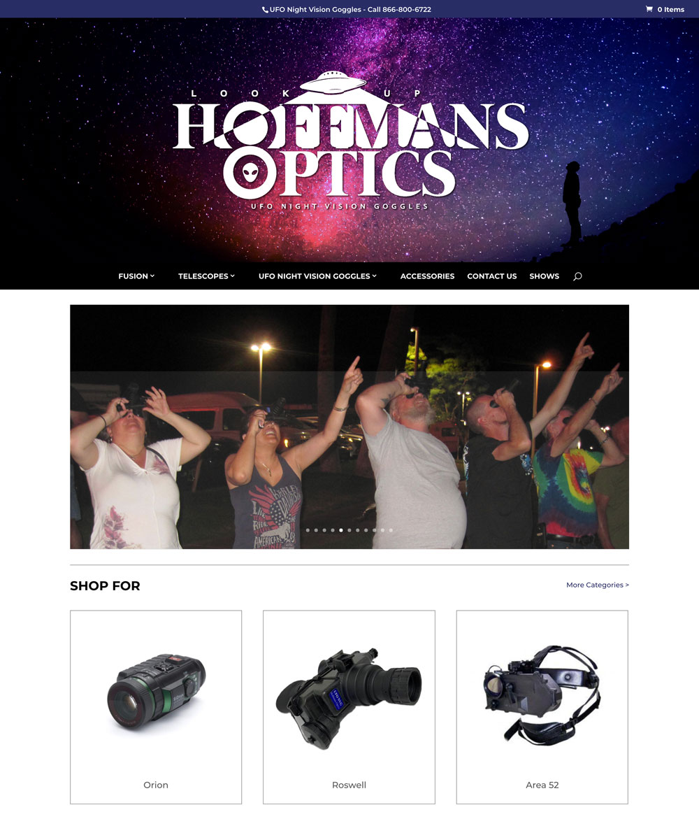 UFO Night Vision Goggles
