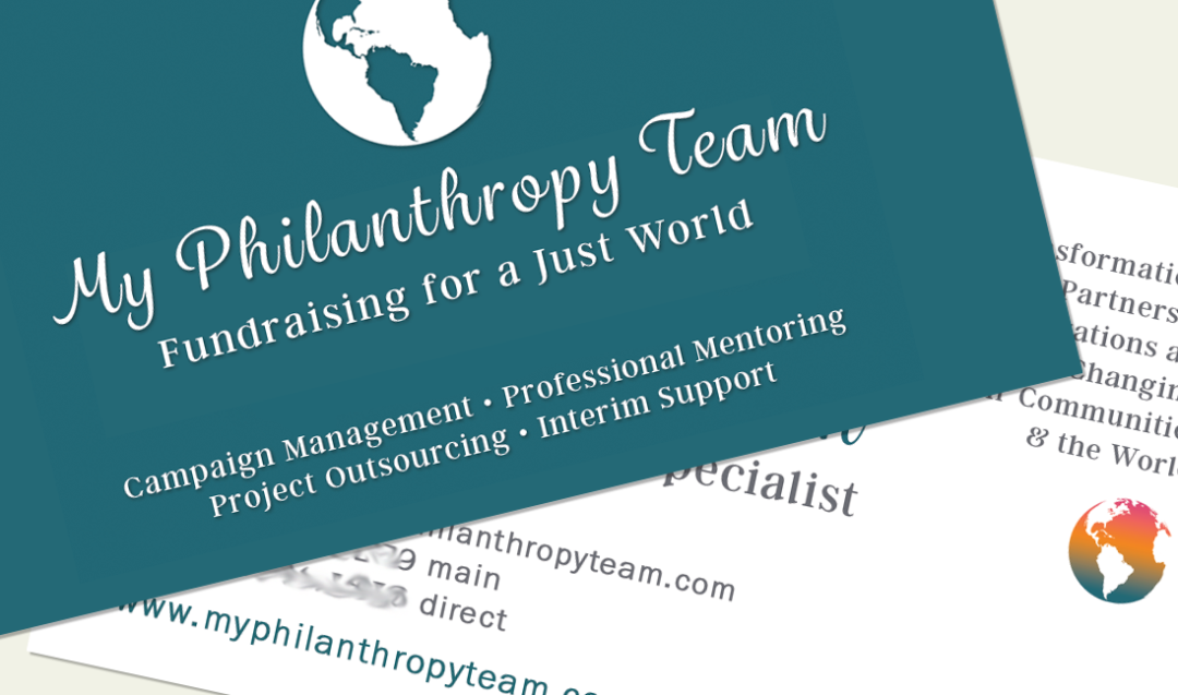 Philanthropy Business Card